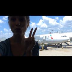 Boarding my plane to Greece